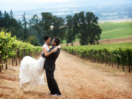 Stephanie & Roy Wedding Vista Hill's Vineyard, Dundee OR | Wedding Photography