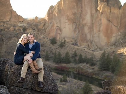 {Devin + Barbi} Engagement Session Smith Rock Central Oregon | Central Oregon Wedding Photography
